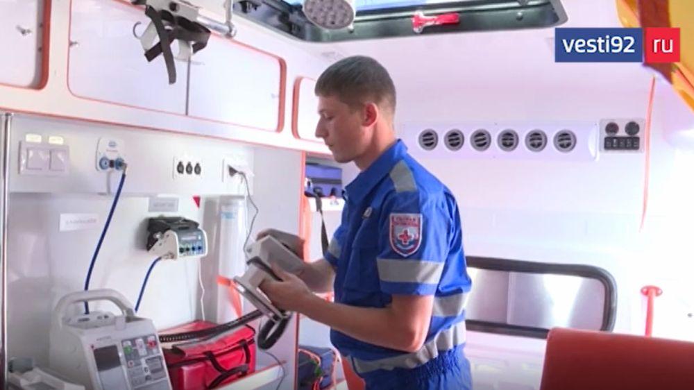 В Севастополе приступили к работе две бригады педиатрической скорой помощи
