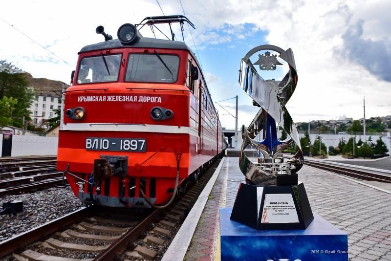 Кубок Главнокомандующего ВМФ России по регби-7 прибыл в Севастополь на поезде