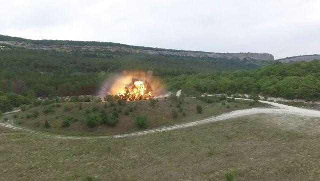 В Севастополе с начала года взорвали 757 бомб времен войны: видео