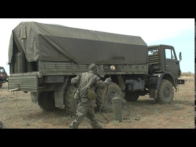В Крыму проходят учения по радиационной, химической и биологической защите