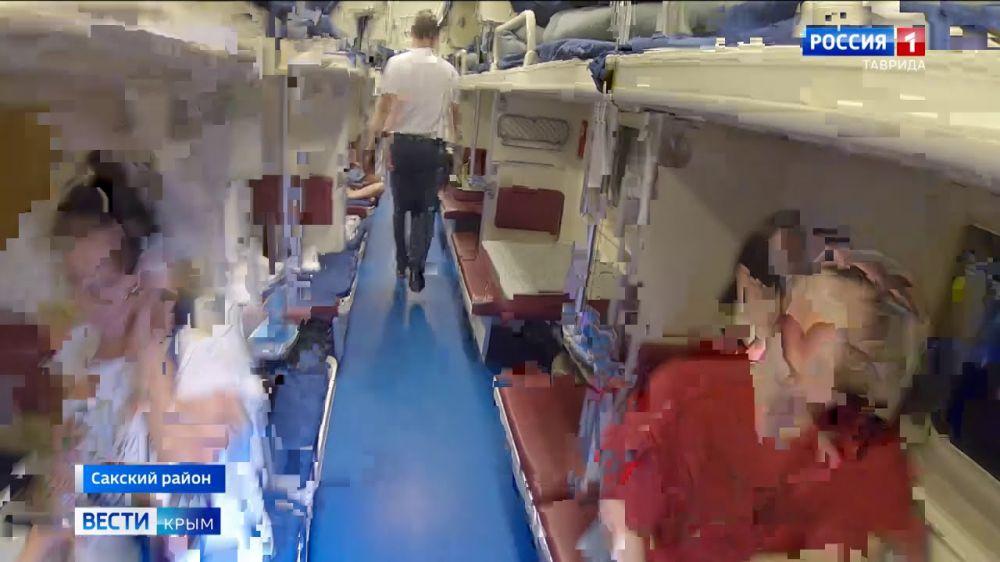 Проводниками на поездах в Крым начали работать студенты