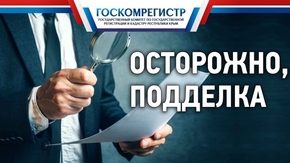 Реакция правоохранительных органов на заявления Госкомрегистра о явно поддельных документах часто не выдерживает никакой критики – Александр Спиридонов
