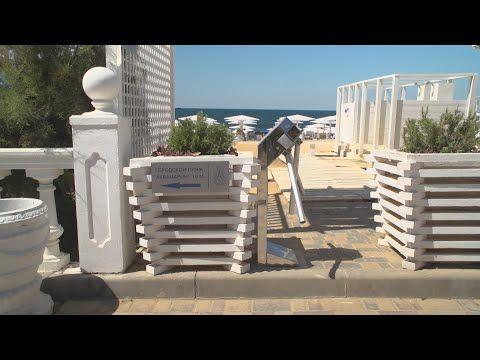 Журналисты СТВ проверили доступность пляжей «Аквамарин» и «Песочная бухта» (СЮЖЕТ)