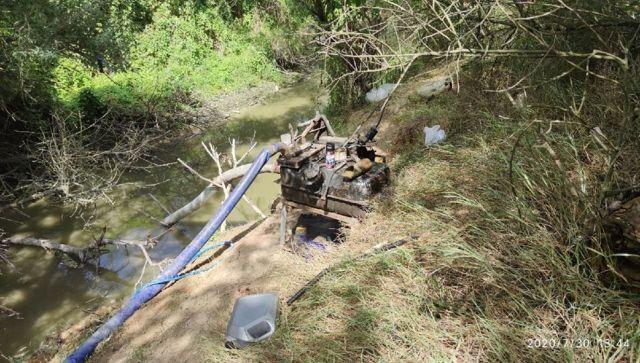 Минприроды Крыма нашло виновного в пропаже воды из Салгира