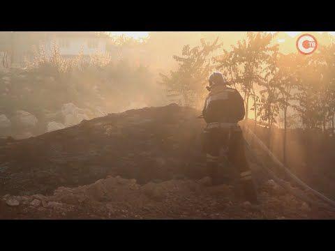 В Крыму стало заметно больше пожаров (СЮЖЕТ)