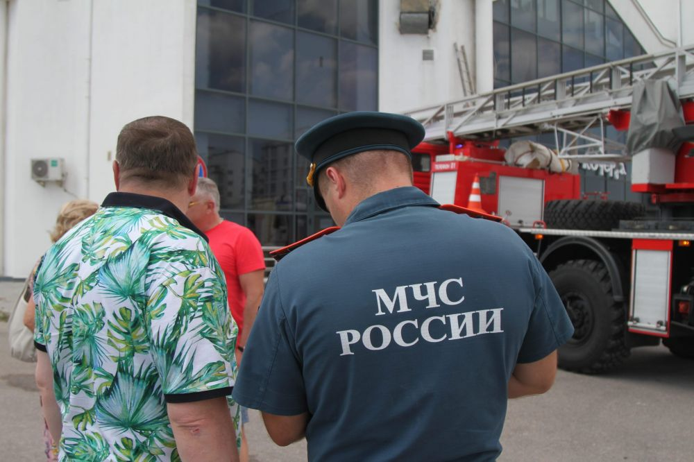 Пожар в Севастополе: горело кафе «Кочерга»
