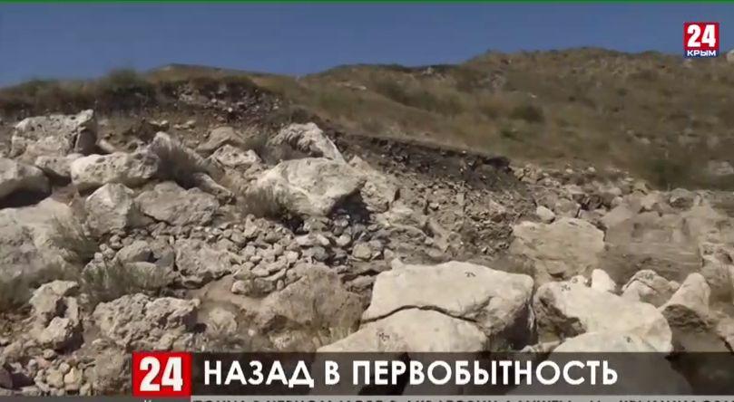 В Керчи археологи исследуют одно из древнейших поселений на полуострове – городище Глейки
