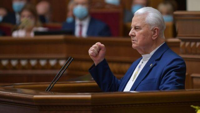 Кравчук нашел способы полного прекращения огня в Донбассе