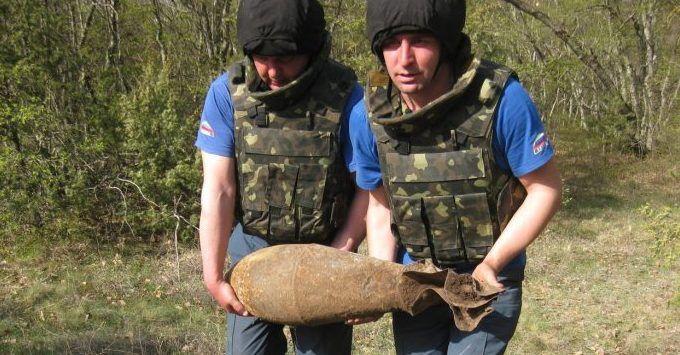 В Ленинском районе Крыма нашли и обезвредили очередные «подарки» ВОВ