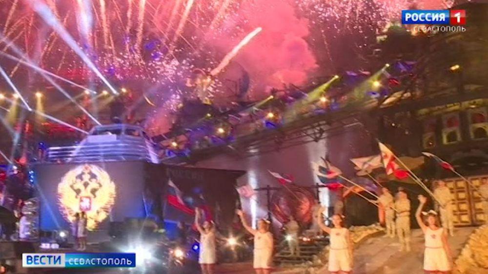 В Севастополе завершился первый день байк-шоу «Ночных волков»