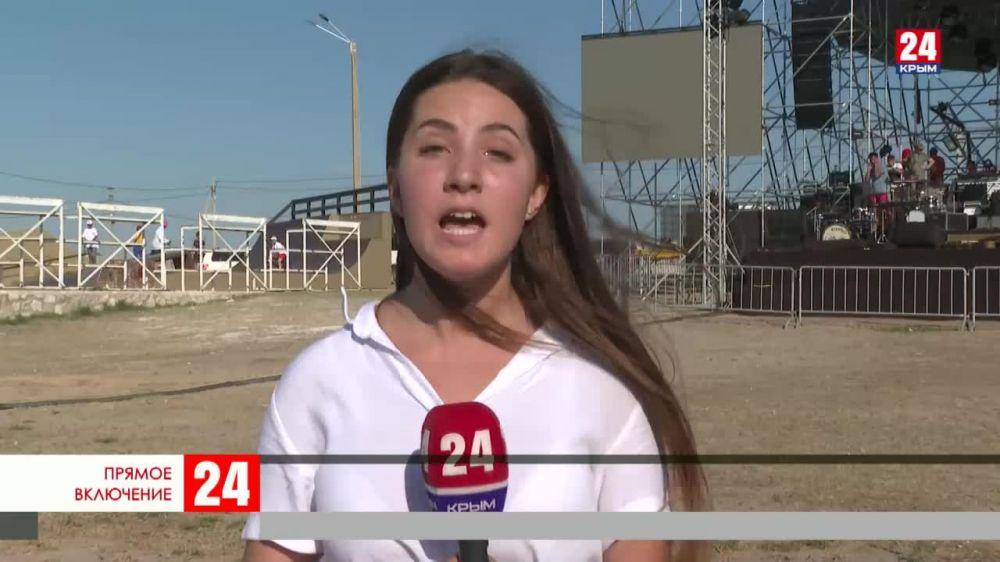 """Сегодня в Крыму заканчивается фестиваль """"Маяк"""""""