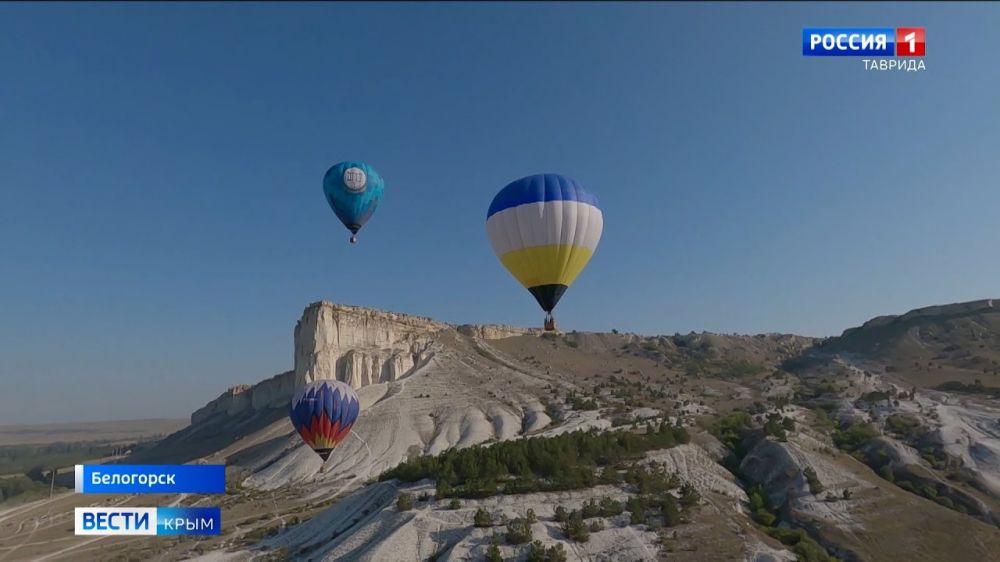 В Крыму прошли состязания мастеров воздухоплавания