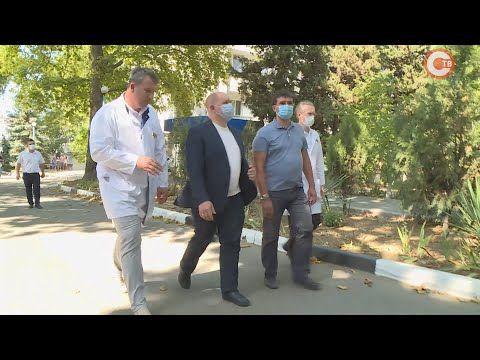 Михаил Развожаев проверил первую горбольницу (СЮЖЕТ)