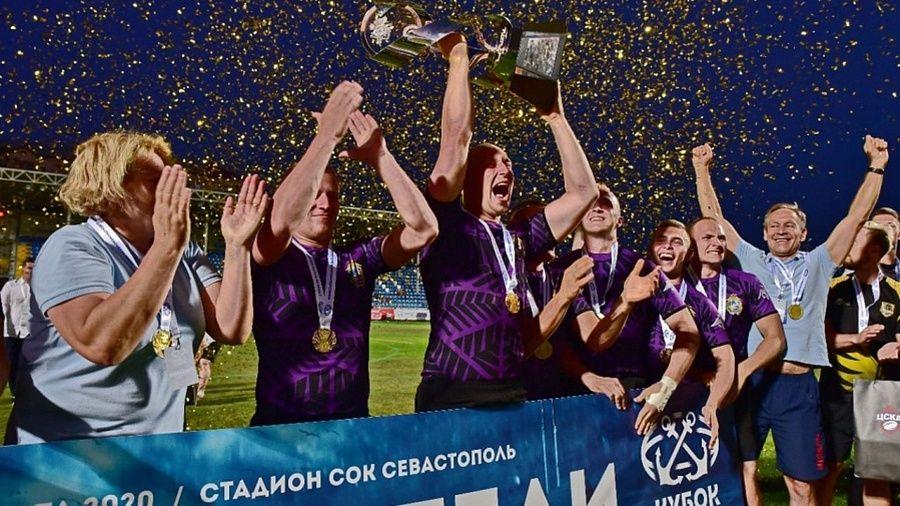 Кубок главнокомандующего ВМФ России по регби-7 отправился в Калининград