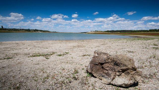На донышке: сколько воды осталось в Симферопольском водохранилище