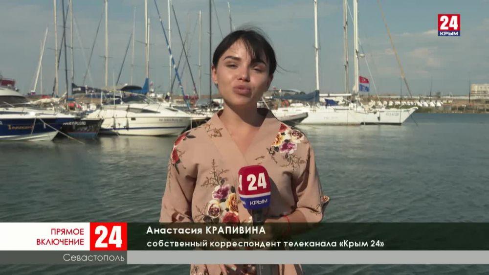 В Севастополе юные моряки готовятся к большому морскому походу