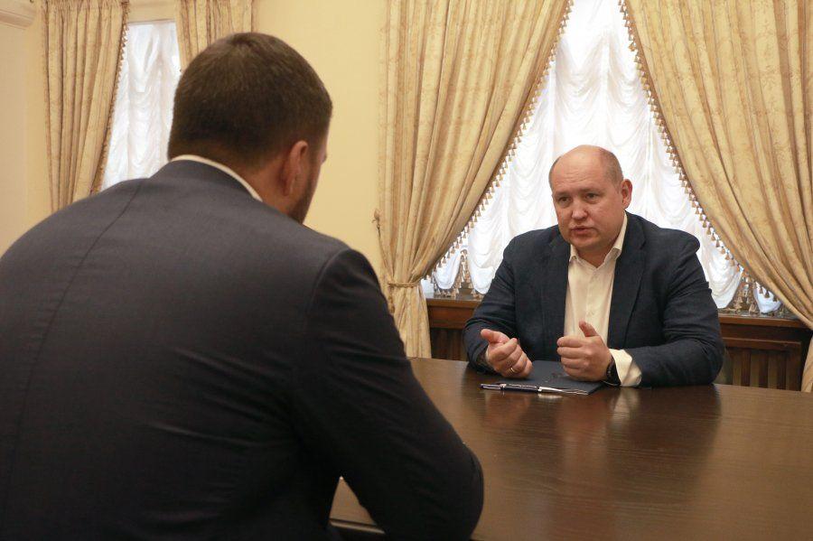 Михаил Развозжаев провёл встречу с Денисом Пушилиным