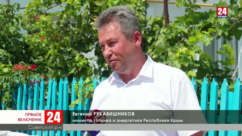 В село Октябрьское провели долгожданный газ за 38 миллионов