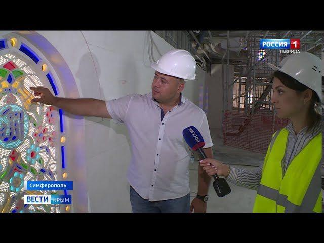 На строительство Соборной мечети Крыма приехали турецкие мастера