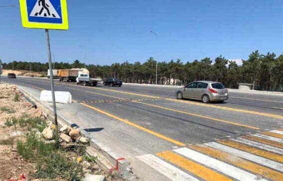 На Камышовском шоссе установили «лежачих полицейский». Причина: погиб человек