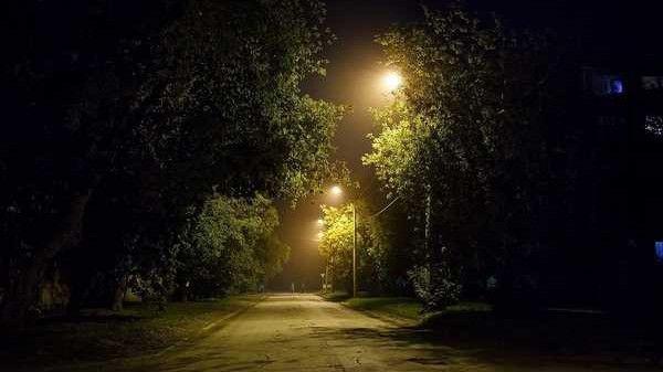 Яркие ночи в с.Плодородное