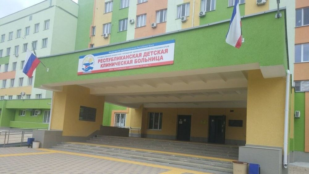 В Симферополе закрыли отделение детской больницы из-за коронавируса