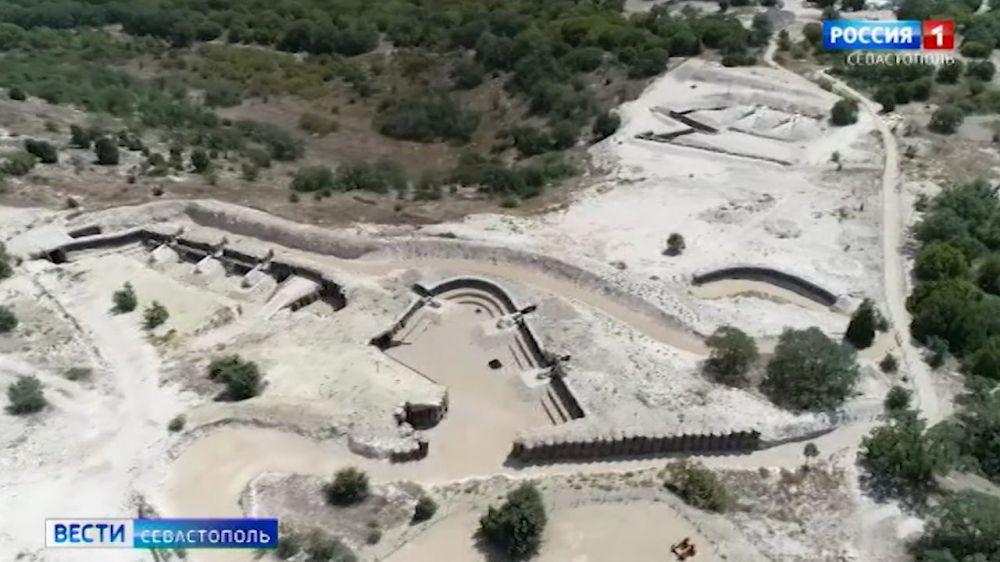 В Севастополе показали новые площадки парка «Федюхины высоты»