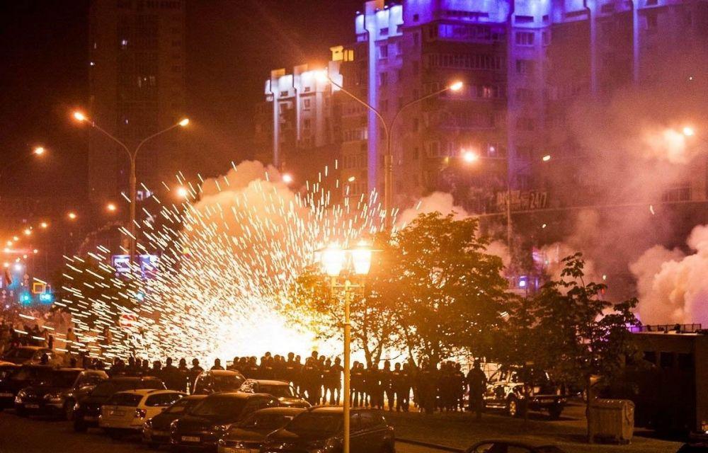 Два украинца пропали после ночных протестов в Минске