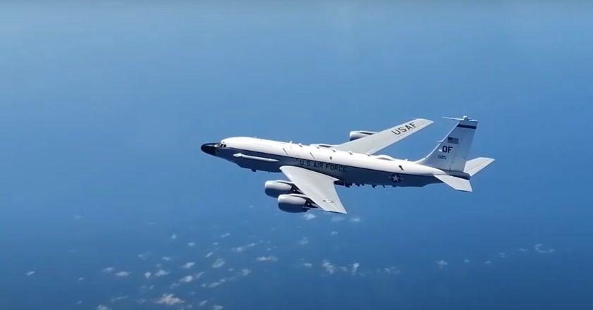 Очередной облет Черноморского побережья Крыма американскими самолетами, очередной перехват