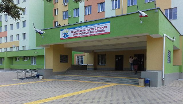 В детской больнице в Крыму закрыли часть отделения из-за COVID-19