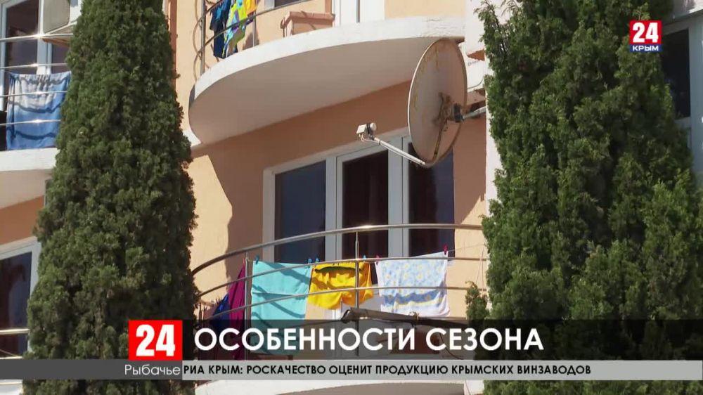 В Крыму с начала прошлого месяца отдохнули около двух миллионов человек