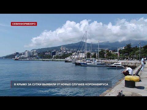 В Крыму за сутки зафиксировано 27 новых случаев COVID-19