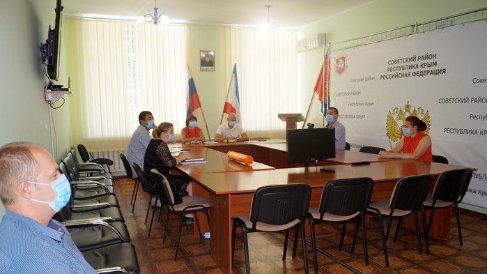 Владимир Трегуб провел очередное заседание оперативного штаба по вопросу предупреждения распространения новой коронавирусной инфекции (2019 – nCoV) в Советском районе