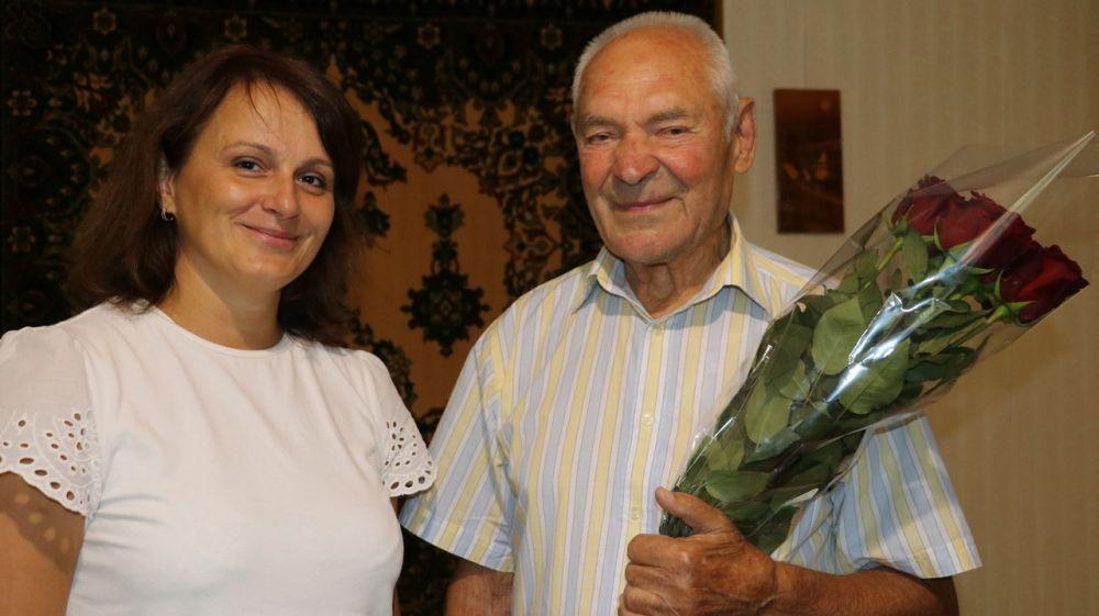 Ветерана войны поздравили с днем рождения
