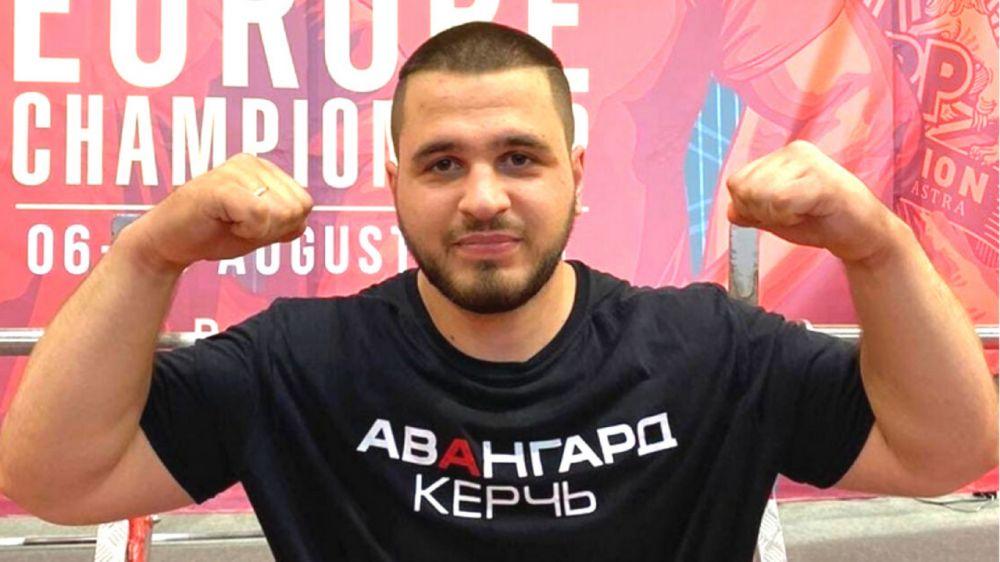 Керченский пауэрлифтер установил новый мировой рекорд на чемпионате Европы