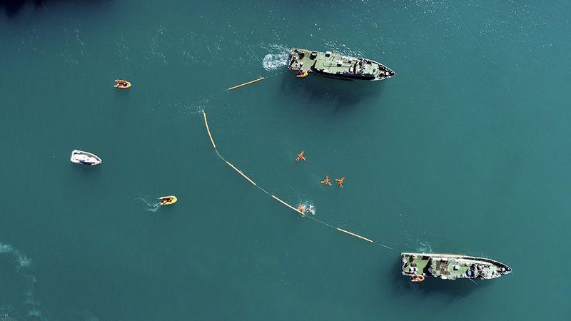 В Севастополе завершился второй этап учения по специальным видам обеспечений действий сил ВМФ