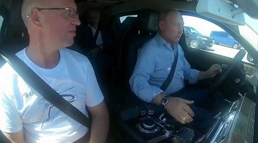 Главный технолог «ВАД» рассказал о поездке с Путиным по пятому этапу «Тавриды»