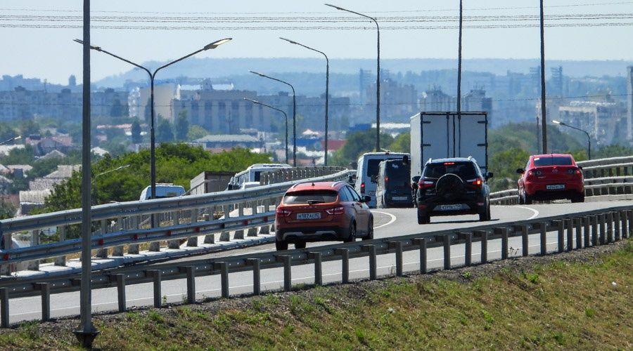 Минтранс РФ опубликовал первые данные о трафике на трассе «Таврида»