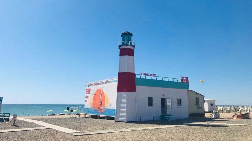 В Крыму провели рейд по пляжам города Саки и Сакского района