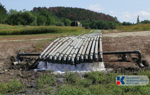 Крымские водохранилища получили только 6% притока воды от многолетней нормы