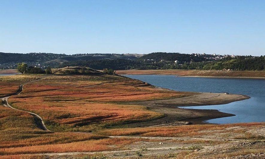 Симферополь снизил потребление воды, но водохранилища, питавшие город, почти пересохли