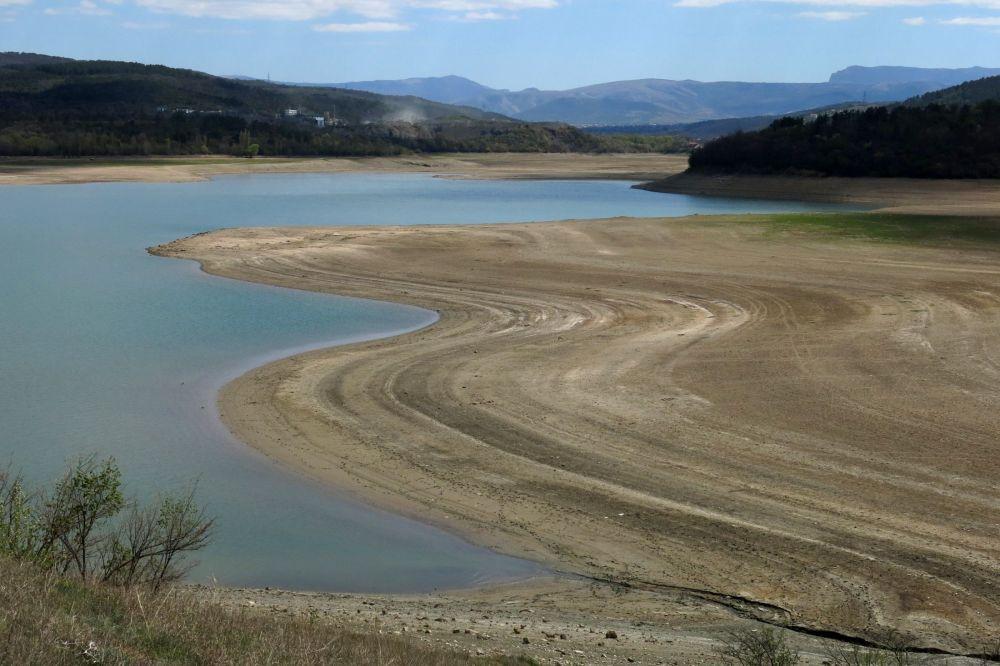 В Крыму рассказали сколько осталось запасов воды на полуострове