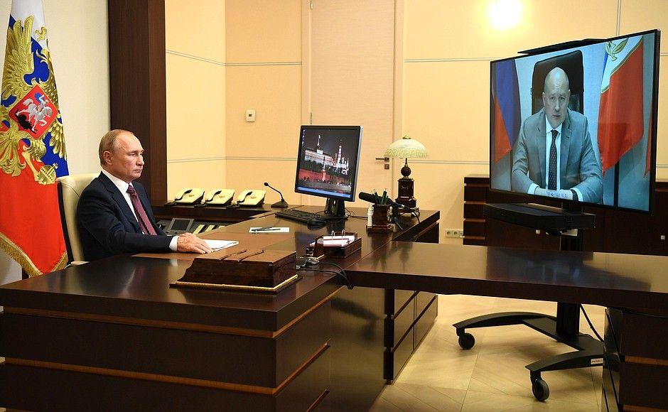Президент поговорил с врио губернатора Севастополя и пообещал деньги на ремонт городского водопровода