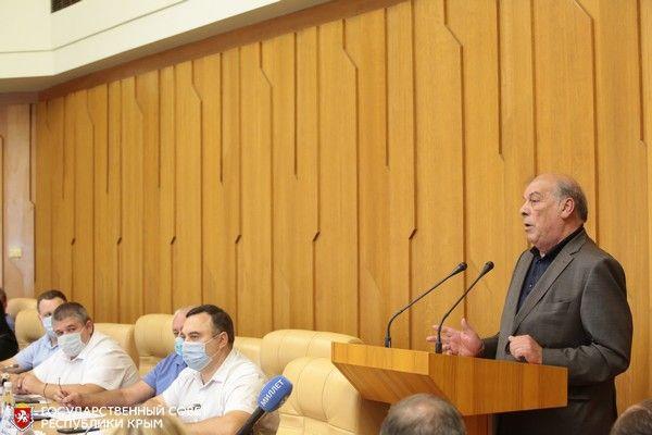 Обеспечение Крыма водой обсудили на заседании Президиума