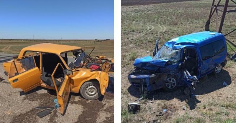 В Крыму два человека погибли в ДТП