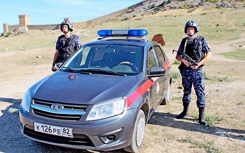 В Судаке наряд вневедомственной охраны Росгвардии задержал нетрезвого водителя