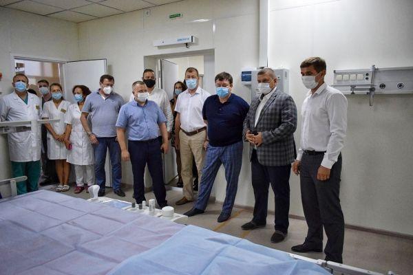 «Новое оборудование повысит уровень оказания медицинской помощи евпаторийцам», - Юрий Ветоха