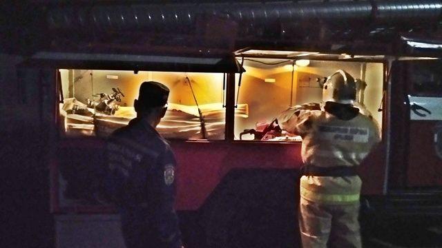 Сотрудники ГКУ РК «Пожарная охрана Республики Крым» продолжают оттачивать профессиональные навыки на пожарно-тактических занятиях
