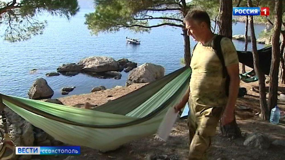 В Севастополе туристов с палатками «просят на выход» из лесов