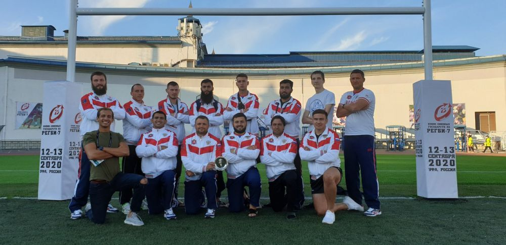 Крымчане выступили на международном турнире в Уфе по регби-7